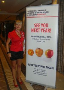 International Congress on Aesthetic,Anti-Aging Medicine,Dubaj 2009